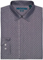 Perry Ellis Big and Tall Paisley Jacquard Fabric Shirt