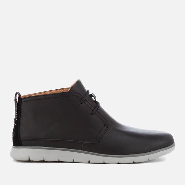 6dd278bff5d Men's Freamon Waterproof Chukka Boots - Black