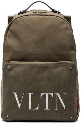 Valentino VLTN logo backpack