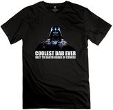Albert T-shirts Man Darth Vader Coolest Dad Funny Fathers Day Star Wars Tshirts