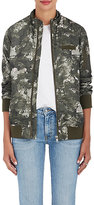 Members Only WOMEN'S CAMOUFLAGE & FLORAL BOYFRIEND JACKET