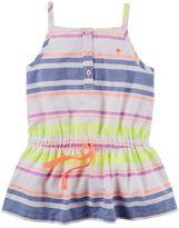 Carter's Baby Girl Striped Henley Tunic