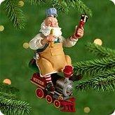 Hallmark 2000 Toymaker Santa Ornament