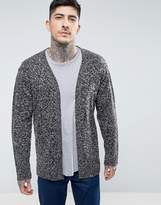 Brave Soul Longline Mix Knit Man Cardigan