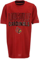 Colosseum Louisville Cardinals In The Vault T-Shirt, Big Boys (8-20)