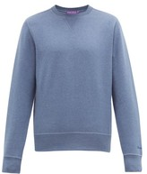 Ralph Lauren Purple Label Madison Spa Cotton-blend Sweatshirt - Mens - Blue