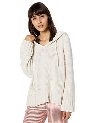 Love lili Pullover Hoodie Chenille Sweater