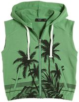 N°21 Palms Printed Cotton Vest