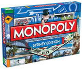 Board Games Sydney Monopoly