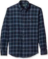 G.H. Bass & Co. Men's Long Sleeve Fireside Plaid Flannel Shirt