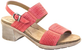 Dromedaris Adjustable Leather Strap Sandals - Selena