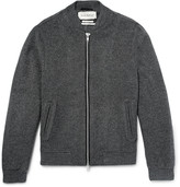 Oliver Spencer - Bermondsey Wool-blend Bomber Jacket