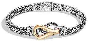 John Hardy Sterling Silver & 18K Yellow Gold Classic Chain Link Bracelet