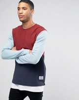 Poler Sweatshirt With Color Block