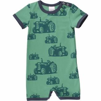 Fred's World by Green Cotton Baby Boys' Farming Beach Body Shaping Bodysuit