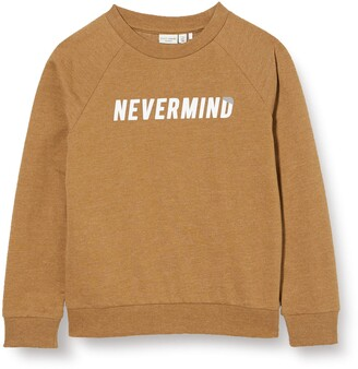 Name It Boy's Nkmvion Ls SWE Unb B Noos Sweatshirt