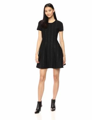 The Kooples Women's Junior's Studded Knit Dress