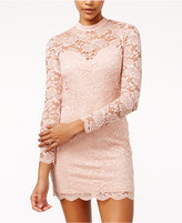 Material Girl Juniors' Lace Bodycon Dress, Only at Macy's