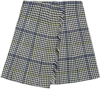 Burberry Wool tartan skirt