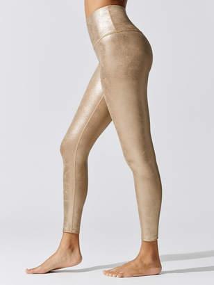 Beyond Yoga Luxe Leatherette High Waisted Midi Legging