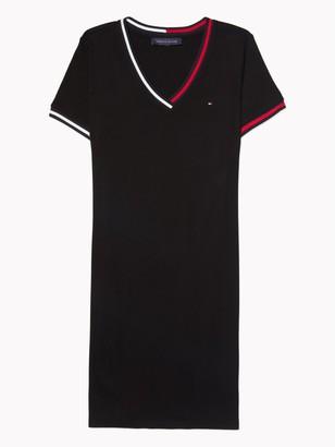 Tommy Hilfiger Essential V-Neck T-Shirt Dress