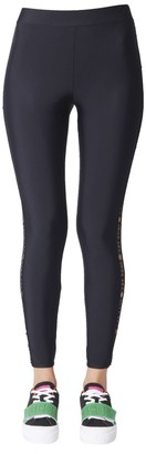 GCDS Embroidered Insert Leggings