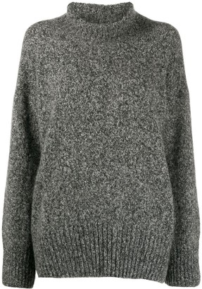 Canessa Mock Neck Jumper