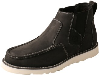 """Twisted X 4"""" Wedge Sole Chelsea Boot"""