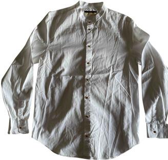 Louis Vuitton White Cotton Shirts