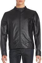 Porsche Design Men's Motocross Leather Jacket