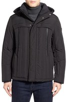Tumi Men's Quilted Hooded Down Jacket