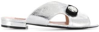 Coliac Crystal Embellished Sandals