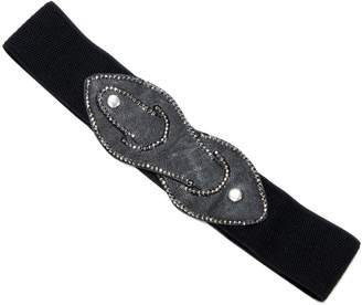 Violet Del Mar Sparkle-Studded Stretch Belt