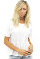 West Coast Wardrobe Hermosa Tee in White