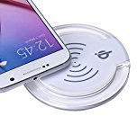 Tenworld Qi Wireless Charger Charging Pad for Samsung Galaxy S6/S6 Edge (White)