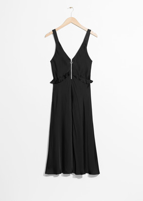 And other stories Frill A-line Dress