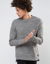 ONLY & SONS Sweater With Drop Shoulder and Hem