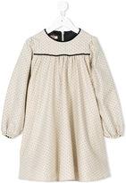 La Stupenderia polka-dot dress