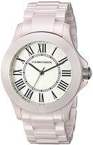 Cabochon Women's 322 Ceramique Analog Display Swiss Quartz Pink Watch