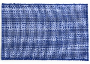 Martha Stewart Closeout! Collection Blue Woven Cotton Placemat, Created for Macy's