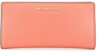 MICHAEL Michael Kors large grained-effect wallet