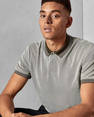 Ted Baker RINGS Soft touch polo shirt