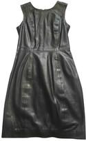Muu Baa Muubaa Black Leather Dress for Women