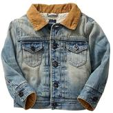 Gap Sherpa-lined denim jacket