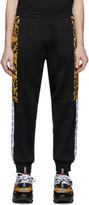 Versace Black Barocco Lounge Pants
