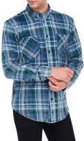 William Rast Plaid Two-Pocket Shirt