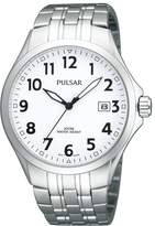 Pulsar Uhren Men's Quartz Watch Klassik PS9091X1 with Metal Strap