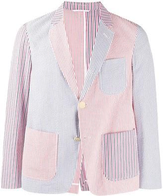 Thom Browne Seersucker Stripe Sports Coat