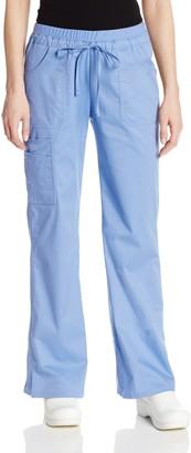 Cherokee Women's Workwear Scrubs Core Stretch Jr. Fit Low-Rise Cargo Pant