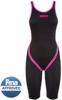 Arena Powerskin Carbon Flex Limited Edition Open Back Full Body Short Leg Tech Suit Swimsuit 8123244